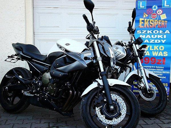 Kurs prawa jazdy na motor - OS Ekspert Wrocław